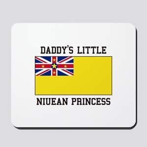 Daddy's Little Niuean Princess Mousepad