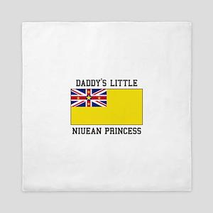Daddy's Little Niuean Princess Queen Duvet