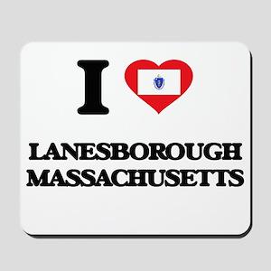 I love Lanesborough Massachusetts Mousepad