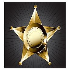 Sheriff Star Poster