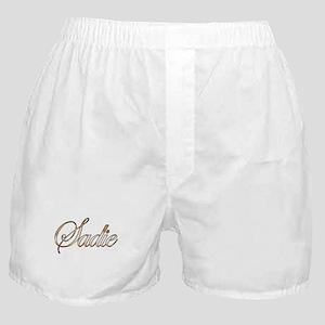 Gold Sadie Boxer Shorts