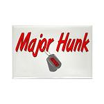 USCG Major Hunk Rectangle Magnet (100 pack)