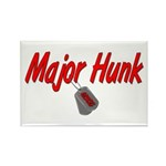 USCG Major Hunk Rectangle Magnet (10 pack)