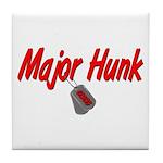 USCG Major Hunk Tile Coaster