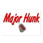 USCG Major Hunk Postcards (Package of 8)
