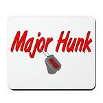 USCG Major Hunk Mousepad