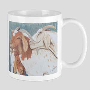 Three Billy Goats NOT Gruff! Mugs