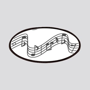White - Music, Music, Music Patch