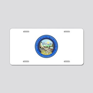 Nevada State Seal Aluminum License Plate
