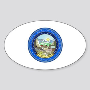 Nevada State Seal Sticker