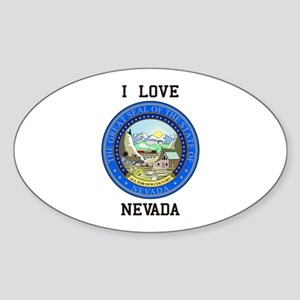 Nevada State Seal Sticker