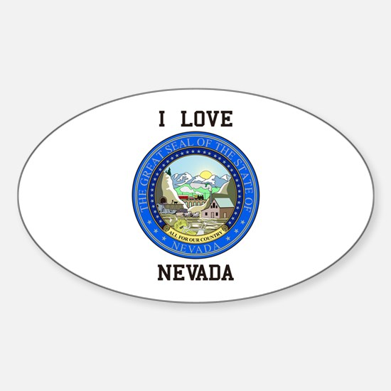 Nevada State Seal Decal