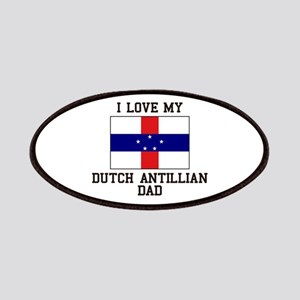 I Love My Ducth Antillian Dad Patch