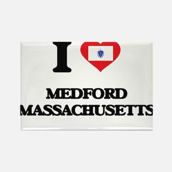 I love Medford Massachusetts Magnets