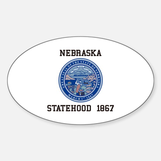 Nebraska State Seal Decal