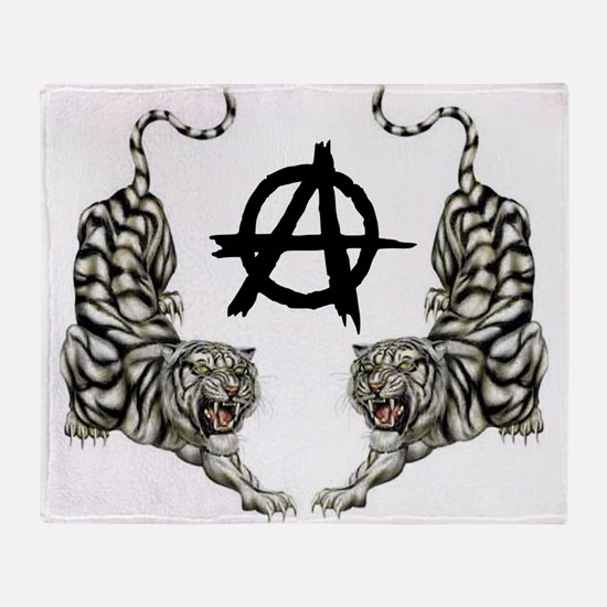 DOUBLE TIGER - ANARCHY Throw Blanket