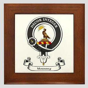 Badge-Mounsey Framed Tile