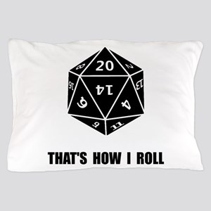 20 Sided Dice Roll Pillow Case