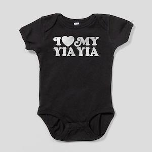 I Love My Yia Yia Baby Bodysuit