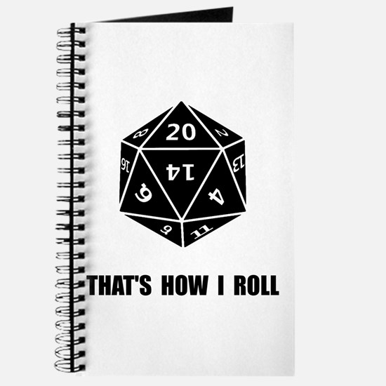 20 Sided Dice Roll Journal