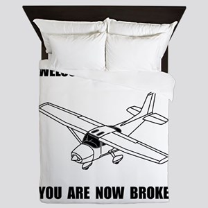 Aviation Broke Queen Duvet