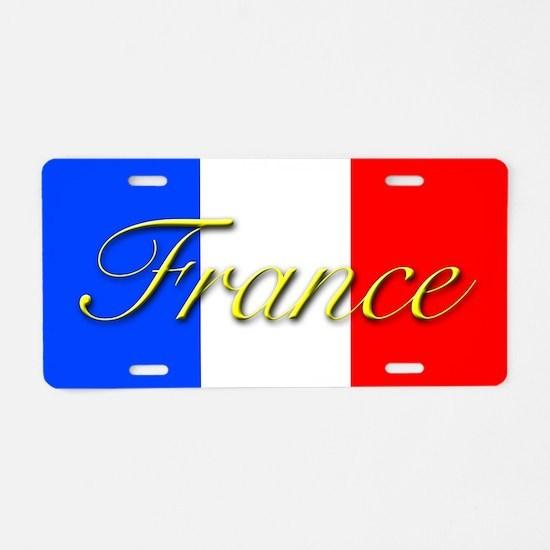 PARIS GIFT STORE Aluminum License Plate