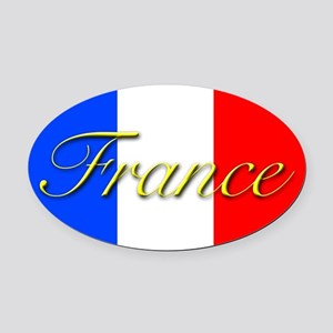 PARIS GIFT STORE Oval Car Magnet