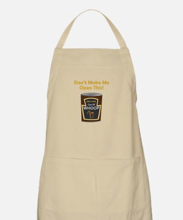 Can Of Whoop Ass Apron