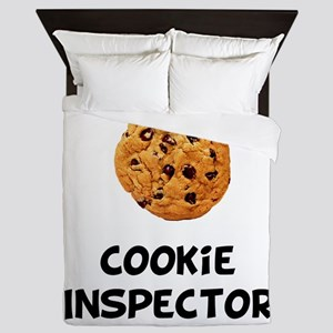 Cookie Inspector Queen Duvet