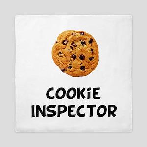 Cookie Inspector Queen Duvet