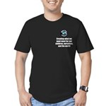 Creating Want Most Men's Fitted T-Shirt (dark)
