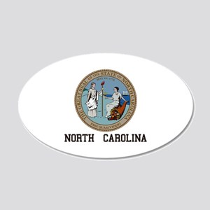 North Carolina Wall Decal