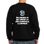 Creating Want Most Sweatshirt (dark)
