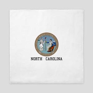 North Carolina Queen Duvet