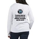 Creating Want Most Women's Long Sleeve T-Shirt
