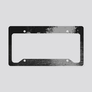 Rainy day License Plate Holder