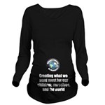 Creating Want Most Long Sleeve Maternity T-Shirt