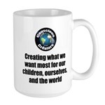 Creating Want Most 15 oz Ceramic Large Mug