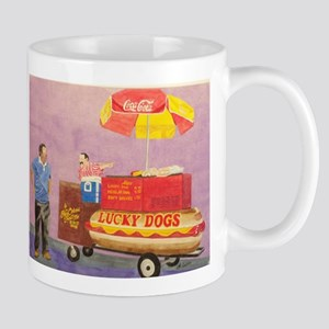 New Orleans Lucky Dog Cart Mugs