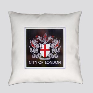 City of London Crest Everyday Pillow