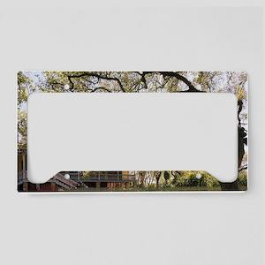 Laura Plantation License Plate Holder