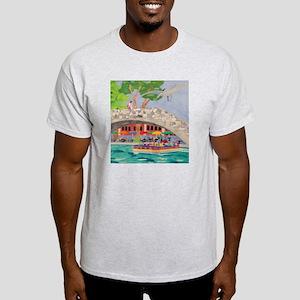 Pterodactyl over San Antonio River Walk T-Shirt
