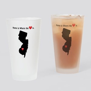 Home is Where the Heart Is Drinking Glass