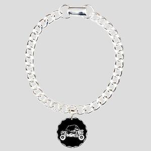 Side X Side Charm Bracelet, One Charm