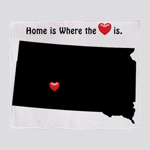 Home is Where the Heart Is Throw Blanket