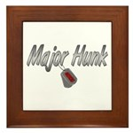 USCG Major Hunk ver2 Framed Tile