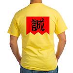 Shinsengumi Yellow 'Makoto' T-Shirt