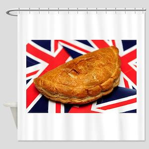 Cornish Pasty Shower Curtain