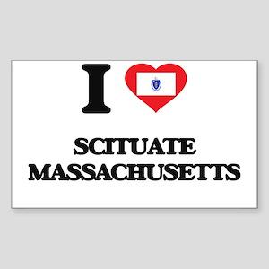 I love Scituate Massachusetts Sticker