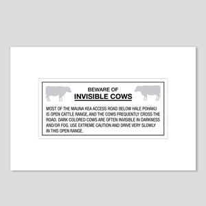 Beware of Invisible Cows, Hawaii (US) Postcards (P